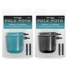 Cupa nadire Drennan Pole Pots - Black