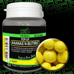 Boilies MG Special Carp Pop-Up  Ananas N-Butiric 10-14mm