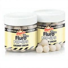 Boilies Dynamite Baits Pop-up Fluro Coconut Cream 10mm