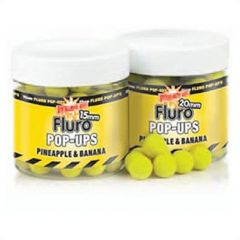 Boilies and Dumbells Dynamite Baits Pop-up Fluro Pineapple & Banana 10mm