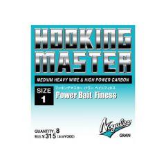 Carlige Varivas offset Nogales Power Bait Finesse Nr.1/0