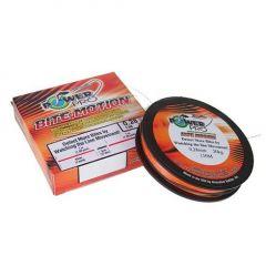 Fir textil PowerPro Bite Motion Orange  0,19mm/13kg/135m
