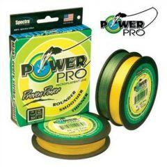 Fir textil PowerPro 1370m/0,15mm/9kg Yellow
