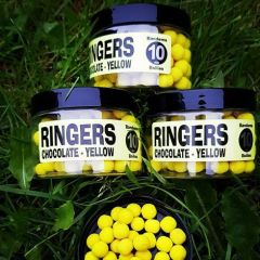 Boilies Ringers Chocolate Yellow Bandem 10mm 70g