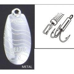 Lingura rotativa Rublex Veltic nr. 5, culoare Argint, 10.0gr