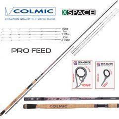 Lanseta feeder Colmic Pro Feeder 2.70m/25gr, 2+3sec