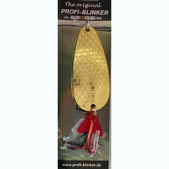 Lingura oscilanta Profi Blinker The Original 6.5cm, culoare Gold