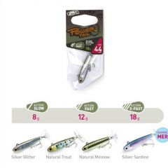 Fiiish Power Tail X-Fast 4.4cm/18g, culoare Natural Minnow