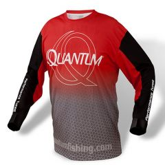 Tricou Quantum Jersey Red Grey S