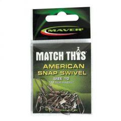 Agrafe + varteje Maver Snap Match This Nr.14 - 10buc./plic