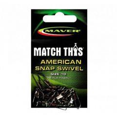 Agrafe + varteje Maver Match This nr.12
