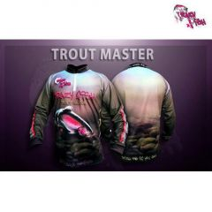 Bluza Crazy Fish Trout Master, marime 2XL