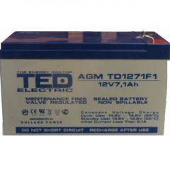 Acumulator etans GS Ted 12V/7,1A
