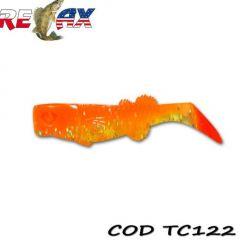 Shad Relax Kalifornia Tri Color 10cm, culoare 122 - 10 buc/plic