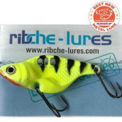 Cicada Ribche Lures Rib 1 5cm/16g, culoare Black Yellow