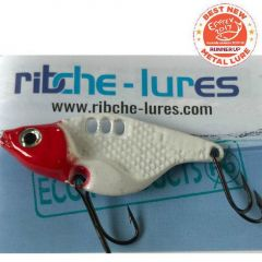 Cicada Ribche Lures Rib 1 4.5cm/8g, culoare Red Head White