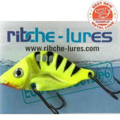 Cicada Ribche Lures Rib 3 4.5cm/8g, culoare Black Yellow