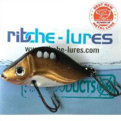 Cicada Ribche Lures Rib 3 4.5cm/8g, culoare Bronze White Belly