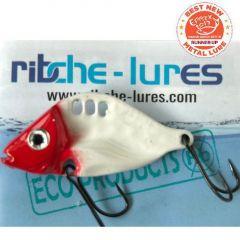 Cicada Ribche Lures Rib 3 4.5cm/8g, culoare Red Head White