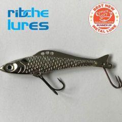 Cicada Ribche Lures Rib 4 7.5cm/16g, culoare Silver