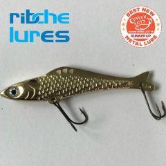 Cicada Ribche Lures Rib 4 7.5cm/16g, culoare Gold