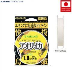 Fir textil Raiglon Kaitou Rupan PE White 0.235mm/12kg/100m