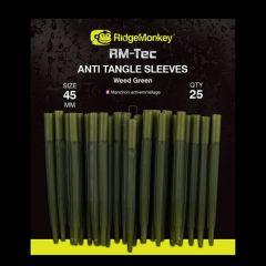 RidgeMonkey RM-Tec Anti-Tangle Sleeve Weed Green - Long