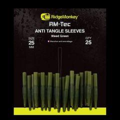 RidgeMonkey RM-Tec Anti-Tangle Sleeve Weed Green - Short
