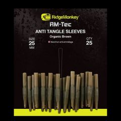 RidgeMonkey RM-Tec Anti-Tangle Sleeve Organic Brown - Short