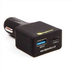 Adaptor Ridgemonkey Vault 45W USB-C PD Car Charger