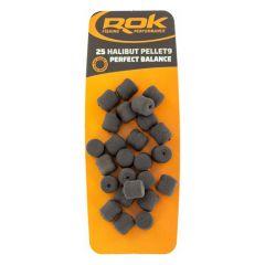 Pelete  Rok Fishing Perfect Balance Halibut 9mm - Black