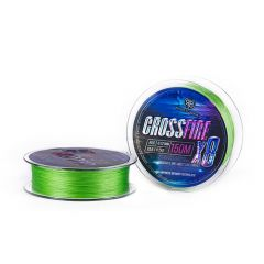 Fir textil RTB Crossfire X8 Lime Green 0.121mm/12lb/150m