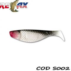 Shad Relax Aqua Standard 7cm, culoare 002 - 10buc/plic