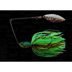 Bertilure Spinnerbait Salcie nr.2, 11gr,Skirt Siliconic Fire Tiger