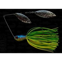 Bertilure Spinnerbait Salcie nr.2 Salcie nr.3, 14gr,Skirt Siliconic Lime-Chartreuse