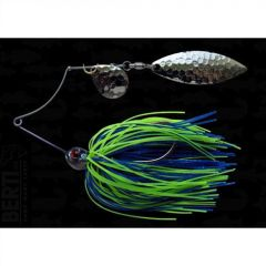 Bertilure Spinnerbait Shallow Killer Colorado-Colorado, 11g, Culoare Blue-Chartreuse