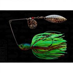 Bertilure Spinnerbait Colorado nr.2 Salcie nr.2, 11gr,Skirt Siliconic Fire Tiger