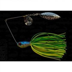 Bertilure Spinnerbait Colorado nr.2 Salcie nr.2, 14gr,Skirt Siliconic Lime-Chartreuse