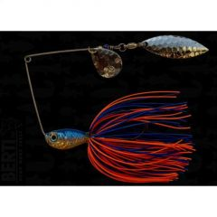 Bertilure Spinnerbait Colorado nr.2 Salcie nr.2, 14gr,Skirt Siliconic Blue-Orange