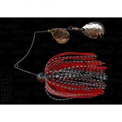 Bertilure Spinnerbait Shallow Killer  Colorado1-Colorado D.C, 7g, Culoare White/Black-Red