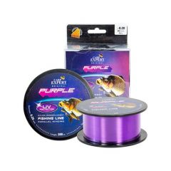 Fir monofilament Carp Expert UV Purple 0.25mm/8.9kg/300m