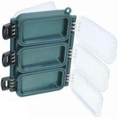 Cutie EnergoTeam pentru carlige dubla, 6 compartimente
