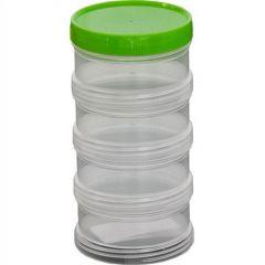 Cutie EnergoTeam de plastic cu filet 4 buc.