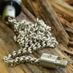 Solar Stainless Chain/Stainless Ended 9""