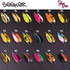 Lingura oscilanta Crazy Fish Seeker 2.5g, culoare 40