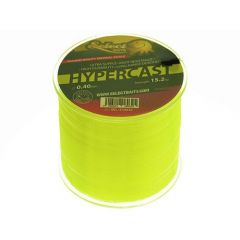 Fir monofilament Select Baits HyperCast Neon Yellow 0.40mm/15.2kg/500m