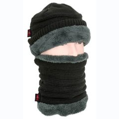 Carp Zoom Hat and Scarf Winter Set