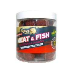 Boilies pentru carlig Select Baits Meat & Fish 16mm