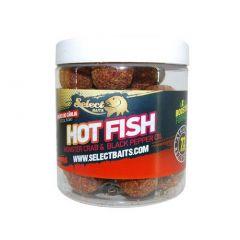 Boilies pentru carlig Select Baits Hot Fish 16mm