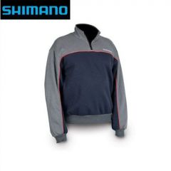 Bluza Shimano Fan Wear Half Zip Sweater, marime XL